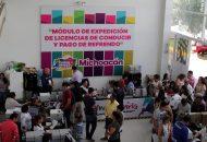 La SFA destaca la gran aceptación de las y los automovilistas, que día con día se hicieron presentes en el Módulo instalado en la sede de la Expo Fiesta Michoacán