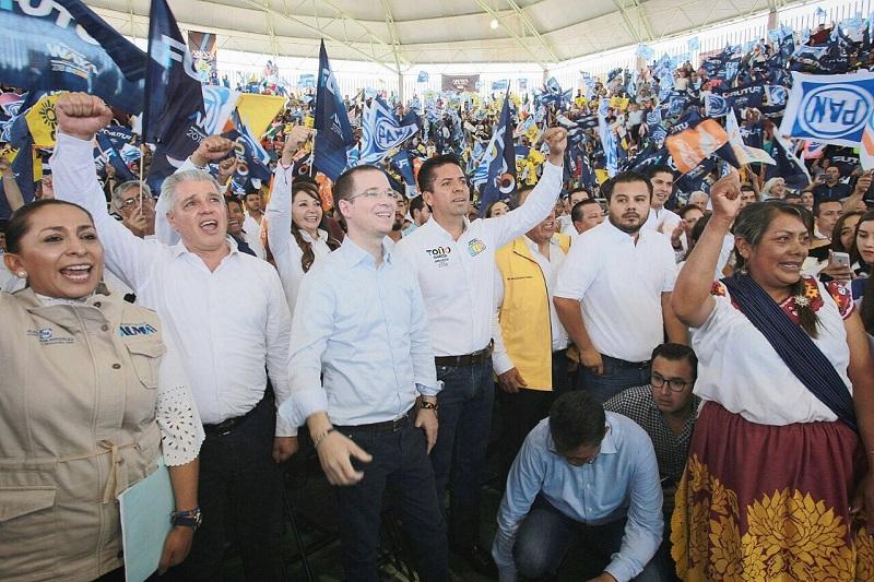 Toño García recibe a Ricardo Anaya de manera fraterna; lo acompañará durante sus actividades proselitistas de este sábado en Michoacán