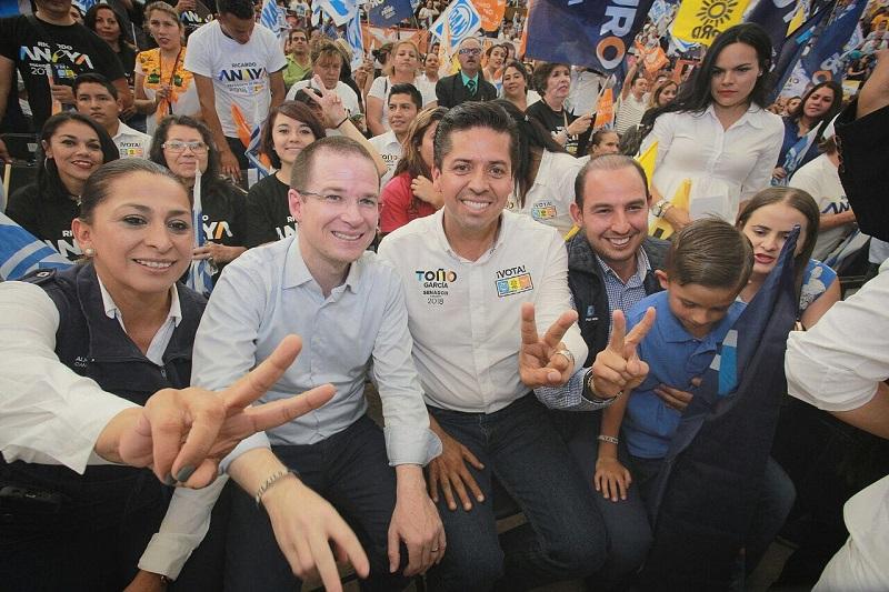 En la capital michoacana, Toño García sentenció que los candidatos de la coalición buscarán el vínculo con la ciudadanía, e invitó a confiar en este proyecto de cambio incluyente