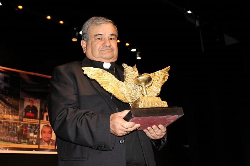 Garfias Merlos se dijo agradecido por dicho reconocimiento e hizo énfasis en la Construcción de Paz, basado en la búsqueda del diálogo como un medio para la superación de las personas, las familias y las instituciones