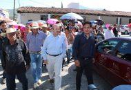 Vallejo Figueroa estableció compromisos concretos con los habitantes de dichas localidades