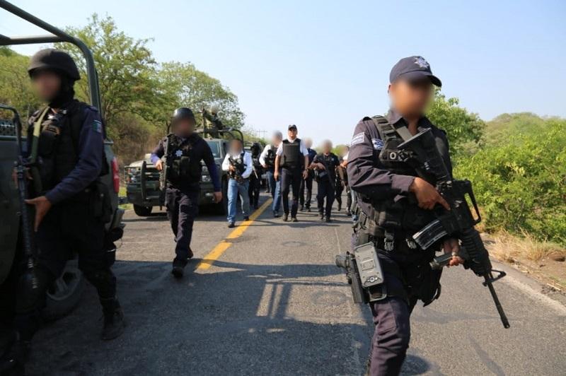 """La presencia operativa se mantendrá en los municipios de Aguililla, Aquila, Chinicuila, Coahuayana, Tepalcatepec y Coalcomán, tras la detención de Juan José Farías Álvarez, """"El Abuelo"""""""