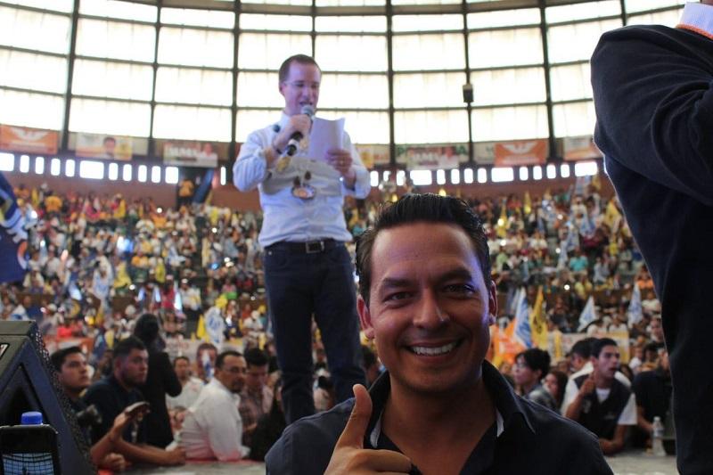 """Sanata González recalcó que """"Ricardo Anaya cuenta con la juventud, experiencia y fortaleza necesaria para llevar a México con un rumbo de claro crecimiento económico y tecnológico, acompañado de mejores oportunidades y calidad de vida para los mexicanos"""""""