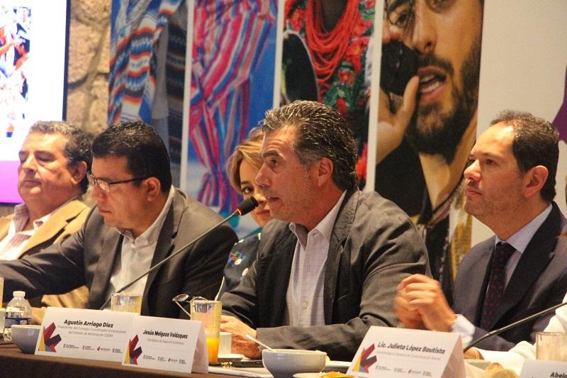 Arriaga Diez reconoció que la Expo Fiesta Michoacán ha mejorado en todos los sentidos por lo que la función de este Patronato será garantizar su continuidad y que los cambios de administración no interrumpan el avance de la misma