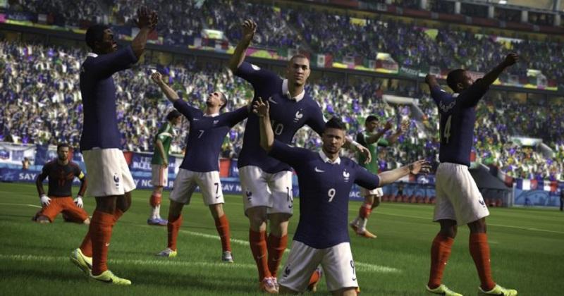 """""""Después de una dramática fase de grupos en las que se vimos equipos como Egipto, Islandia y México caer temprano, las naciones europeas dominaron las últimas etapas del grupo"""", dijo EA Sports en un comunicado"""