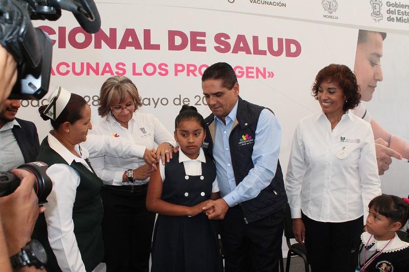 Durante la semana del 28 de mayo al 1 de junio, el IMSS realizará un millón 166 mil acciones, entre las que destaca la aplicación de 20 mil vacunas contra el virus del papiloma humano (VPH) a niñas de quinto año de primaria