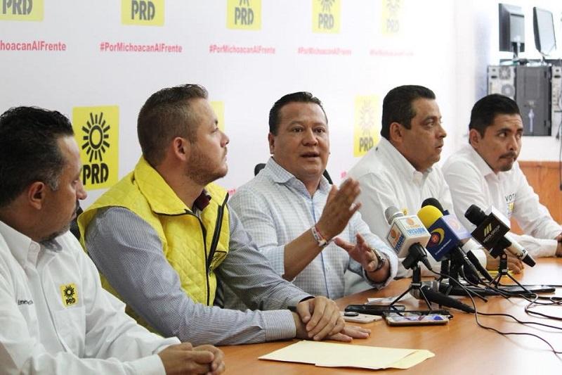 """Nosotros estimamos que en dos semanas vamos a ganar la campaña, porque la marca ya la ganamos, para con esto ir a ganar a la jornada electoral"""", indicó Martín García Avilés"""