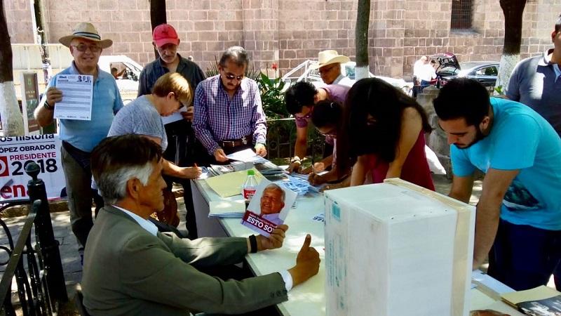 Resultados de la consulta ciudadana muestra una gran aceptación al proyecto de Morena: Alfredo Ramírez Bedolla