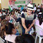 La diputada local con licencia expuso a los jóvenes que hoy este sector no es el futuro sino el presente de México