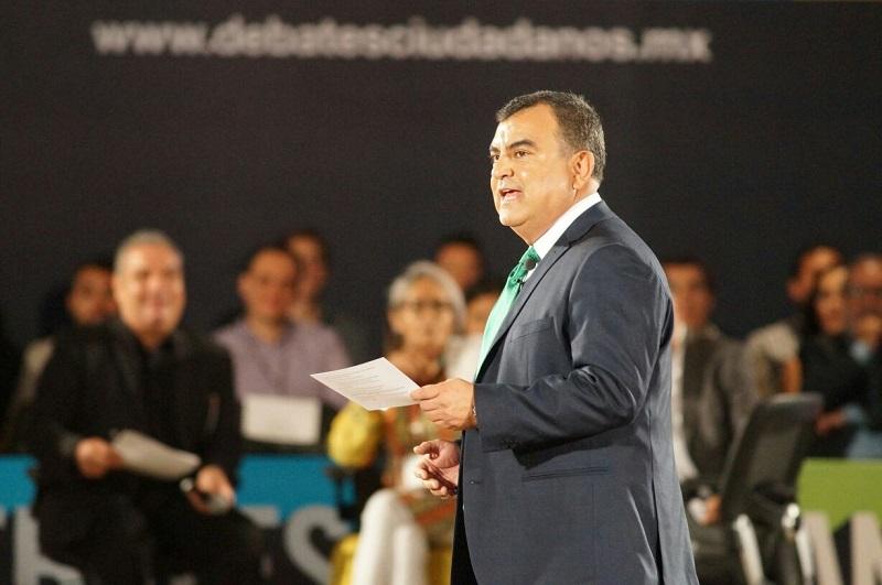 """El candidato introdujo que """"Morelia requiere un cambio para llegar a ser un referente nacional e internacional y ya no seguir a la deriva, ya no queremos vividores del gobierno"""""""