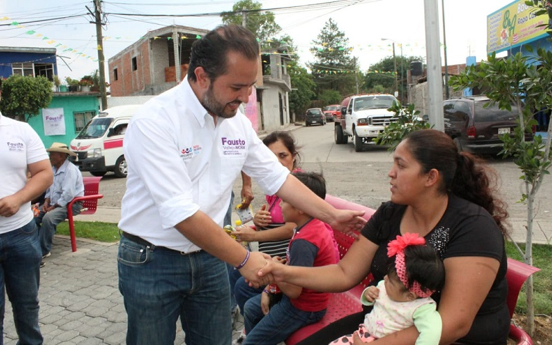 Fausto Vallejo Mora externa que una vez que llegue al Congreso del Estado, será la voz de los morelianos