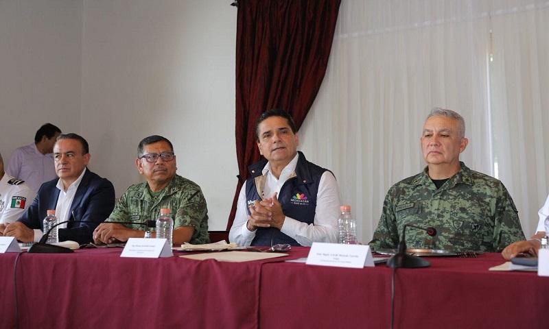 A la baja, delitos de alto impacto en Michoacán: GCM