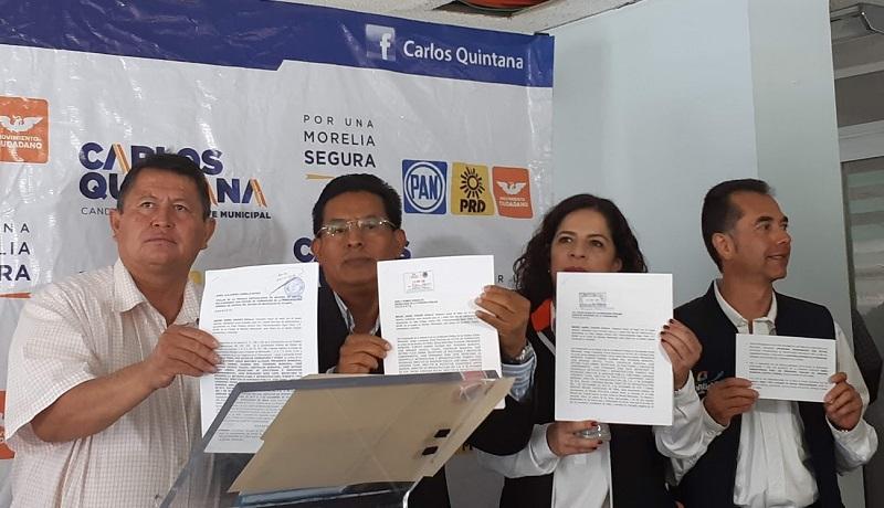 Chávez Zavala señaló que Alfonso Martínez y su gavilla de colaboradores han encabezado una de las tres administraciones más corruptas de Morelia