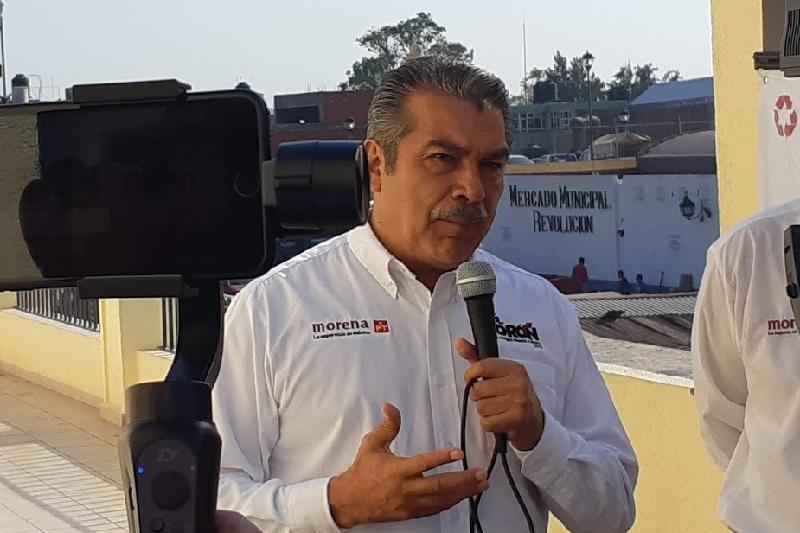 Raúl Morón descartó que haya algún candidato al cual haya que cuidarle las manos en estas campañas electorales (FOTO: SEBASTIÁN CASIMIRO)