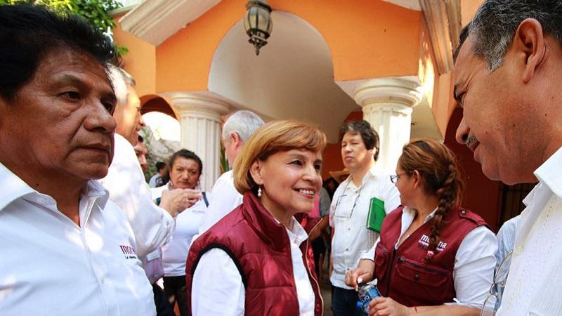 Cerraremos las puertas al viejo sistema político, dijo Blanca Piña