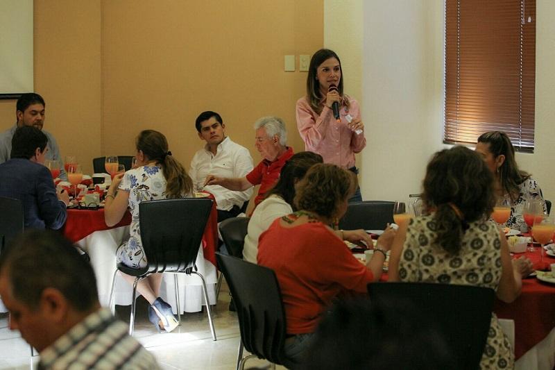 Hoteleros y restauranteros morelianos ven en Daniela una mujer con sensibilidad para resolver los problemas de la ciudad