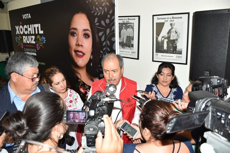 El líder priista, aseguró que a partir del relanzamiento de PRI Nacional se ha marcado un cambio en el posicionamiento del candidato José Antonio Meade y hoy hay otra ruta