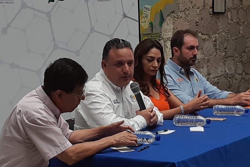 La seguridad es primordial para lograr el desarrollo económico de la capital michoacana: Carlos Quintana