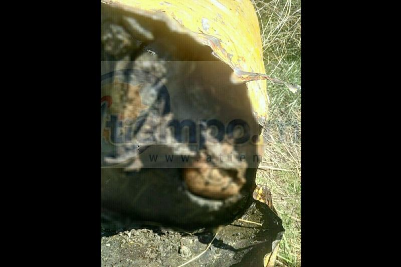 Se encontraba sellado con cemento, por lo que fue necesario el apoyo de personal de Bomberos Morelia, quienes lo destaparon