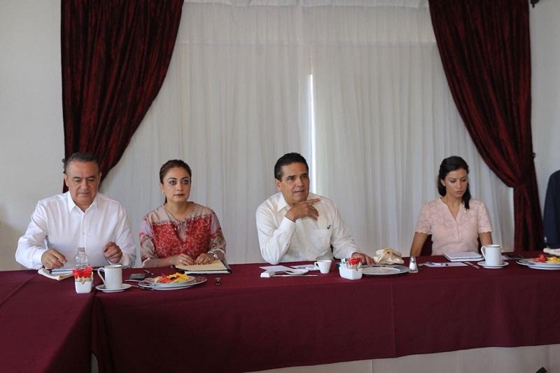 Aureoles Conejo señaló la importancia de comunicar a la ciudadanía las tareas que desde los hogares, centros de trabajo y escuelas deben implementarse para evitar cualquier incidente