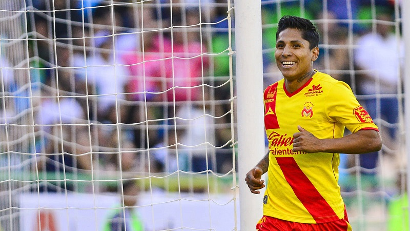 El seleccionado peruano fue dos veces campeón de goleo en la Liga Bancomer (Apertura 2016 y Clausura 2017)
