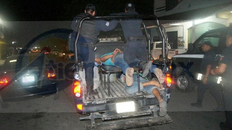 Los afectados procedieron durante la madrugada a interponer su denuncia penal por el delito de robo