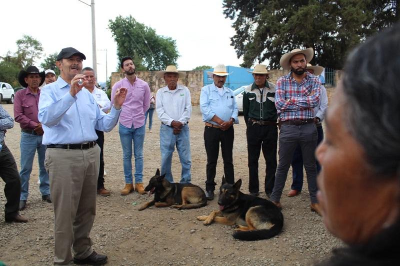 Seguridad y obras de impacto social los compromisos del ex edil con la zona rural