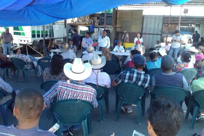 Blanca Piña agradeció la invitación de los campesinos para convertirse en la voz del pueblo en el Senado de la República, así como aseguró que no habrá de fallarle a la confianza que han depositado en ella