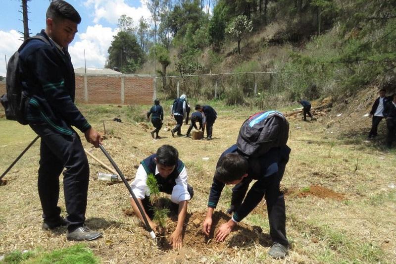 Por su parte, la directora general del Instituto de la Juventud Michoacana (Ijumich), Giulianna Bugarini Torres, invitó a las y los estudiantes del Conalep Michoacán a convertirse en agentes activos de cambio para mejorar el planeta