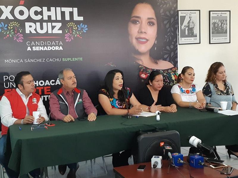 Xóchitl Ruiz también planteó como propuesta legislativa impulsar desde la Cámara de Senadores del país, el Fortalecimiento de las Zonas Económicas Especiales (FOTO: SEBASTIÁN CASIMIRO)