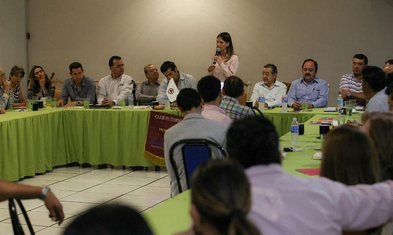 Ofrecen Rotarios trabajo para concientizar sobre valores y prevención de adicciones