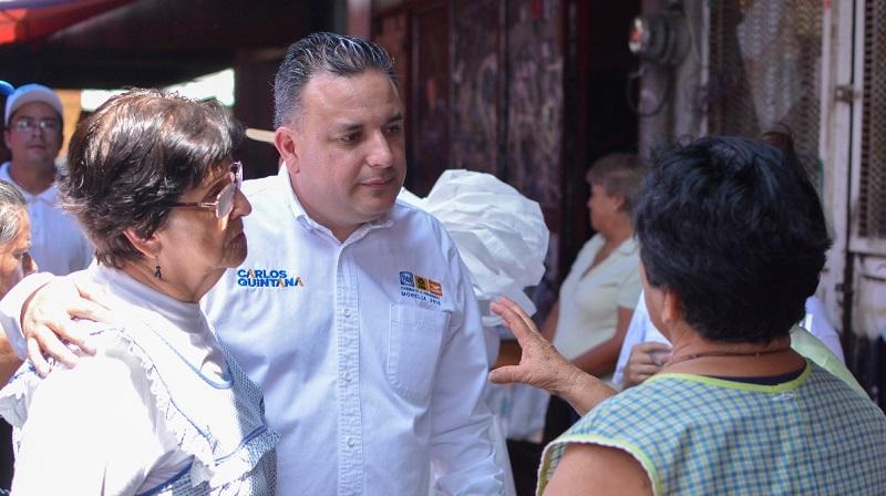 En los 20 días que quedan de campaña, reforzaremos el trabajo directo con los morelianos para conocer sus necesidades y ofrecer propuestas verdaderas: Carlos Quintana