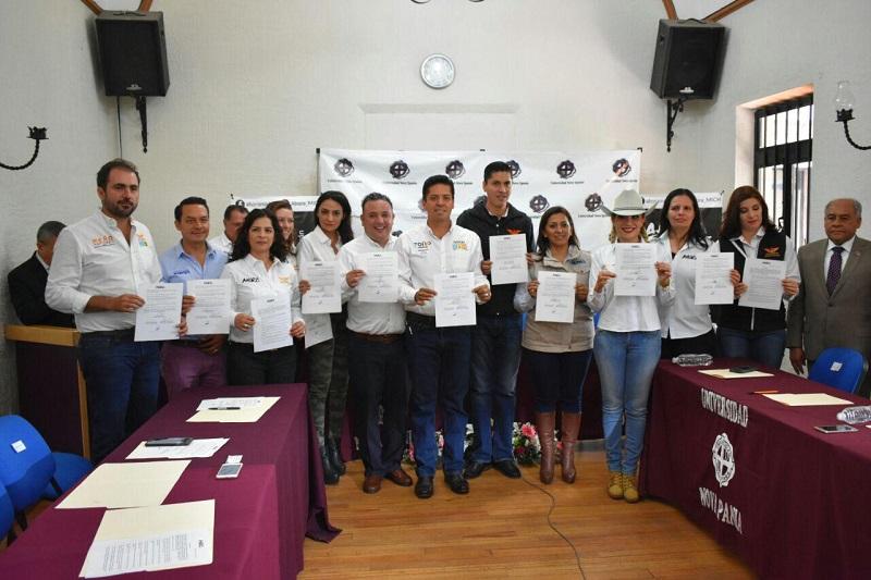 """Candidatos de """"Por Michoacán Al Frente"""" reafirman su compromiso con la rendición de cuentas y lucha contra la corrupción"""