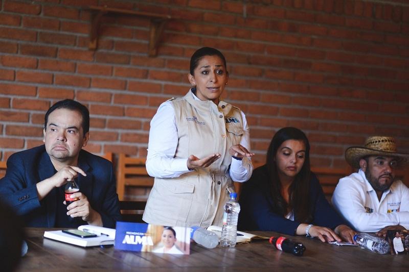 Alma Mireya González será una Senadora gestora e impulsora ante el Congreso de la Unión de proyectos de crecimiento para la entidad