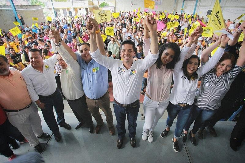 Toño García abogará por que las leyes y acciones del Congreso de la Unión sean consultadas por la ciudadanía, antes de ser aprobadas en el pleno legislativo