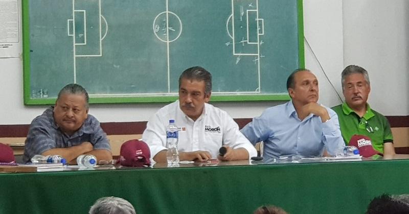 Se mejorarán y modernizarán también los centros deportivos y los espacios públicos con los que cuenta Morelia, esto con equipamiento adecuado: Raúl Morón