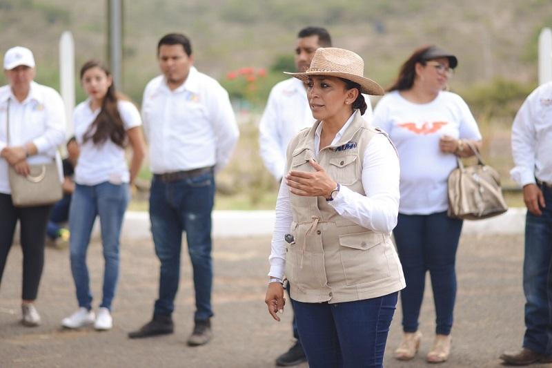 Los candidatos del PAN y del frente representan el cambio que requiere la entidad, en sus manos está el futuro del estado: Alma Mireya González