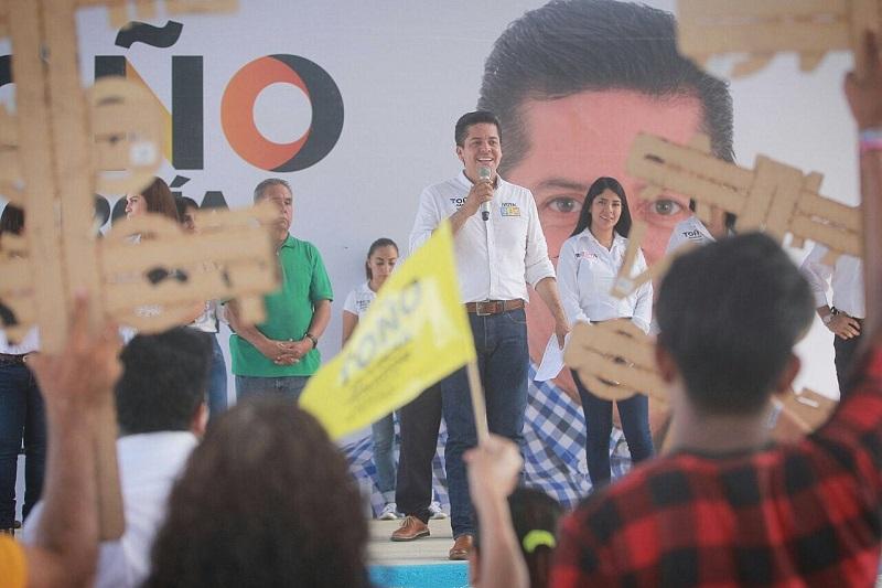 Toño García recibió muestras de respaldo para convertirse en Senador de la República, de cara a la elección del próximo 1 de julio