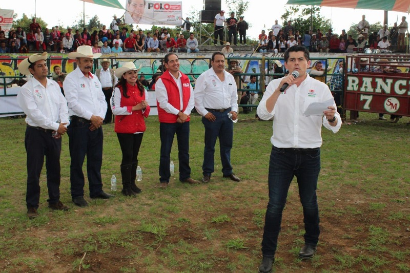 """Ixtláhuac subrayó que popular significa pueblo: """"Y es con el pueblo que tenemos que hacer la Nueva Revolución de México, la Nueva Revolución por Michoacán"""""""