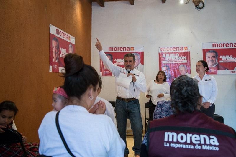 Morón Orozco, candidato de Andrés Manuel López Obrador para Morelia, dijo que en sus propuestas está la de implementar un Sistema Municipal de Gobernanza de Calidad, mismo que tenga como base la participación democrática de la sociedad moreliana