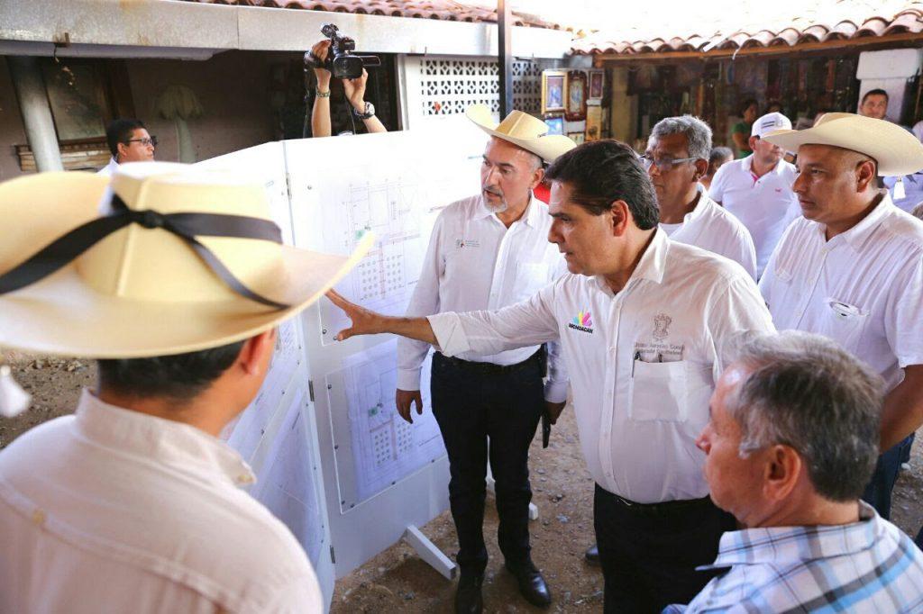 Con esta acción, se busca detonar el turismo de este poblado, y con ello fortalecer la economía de la región: Aureoles Conejo
