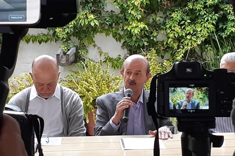 Vallejo Figueroa presentó un decálogo de acciones a realizar en materia ambiental en Morelia (FOTO: SEBASTIÁN CASIMIRO)