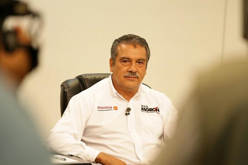 El candidato de Morena y el Partido del Trabajo (PT), enfatizó que no sólo los morelianos sino los mexicanos en general están hartos de la corrupción, la impunidad y la inseguridad que han traído consigo los gobiernos actuales