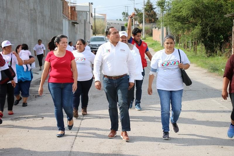 """""""Trabajaremos estratégicamente por mejores condiciones de desarrollo para las familias"""", afirma Gerónimo Color"""