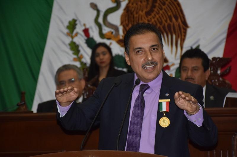 El presidente del Congreso del Estado, Roberto Carlos López, hace un llamado a consolidar instituciones