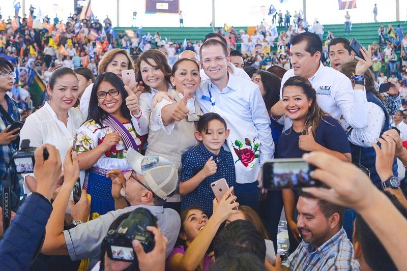 Ricardo Anaya 17 propuestas concretas y sólidas para economía, salud, educación, medio ambiente, así como ciencia y tecnología, destacó Alma Mireya González
