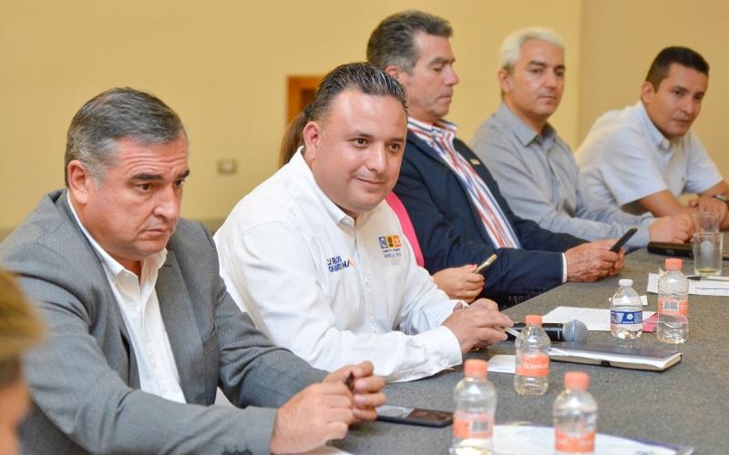 Sólo con trabajo coordinado con ciudadanos, sector empresarial y gobierno se podrá lograr el avance de Morelia, aseveró: Carlos Quintana