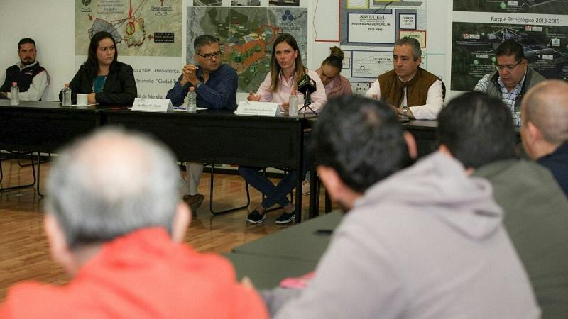 Daniela de los Santos apostó a que, de la mano de los especialistas en informática y comunicaciones como lo es CLUSTERTIM, el Ayuntamiento de Morelia cuente con mejores herramientas en transparencia
