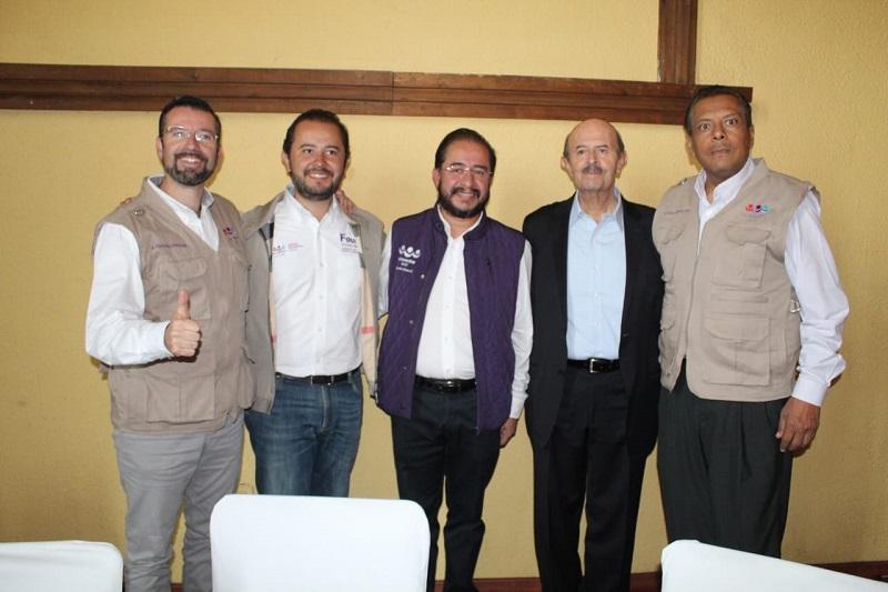 """Vallejo Figueroa señaló que al contrario es otro el candidato que debe pensar en declinar """"por su servidor porque vamos a ganar y vamos por el proyecto Morelia"""""""