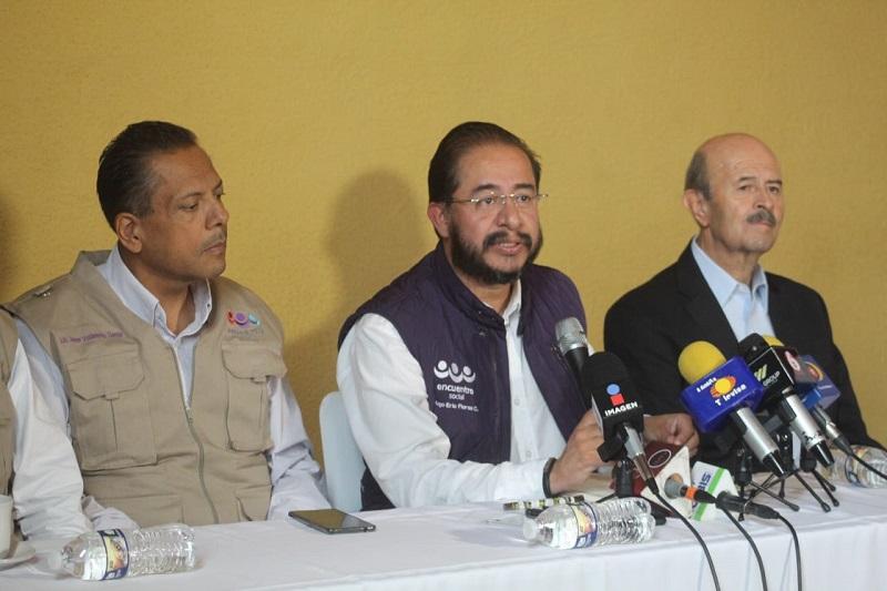 Además, aseguró que el ex gobernador se alzará con el triunfo este próximo 1 de julio, acompañado por Javier Valdespino, así como de candidatos a ocupar diversos cargos de elección popular